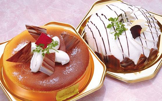 写真:デコレーションケーキ