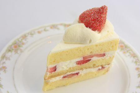 写真:いちごのショートケーキ