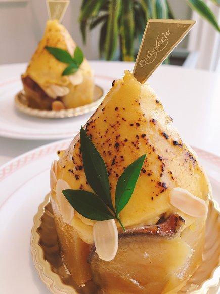写真:安納芋のモンブラン