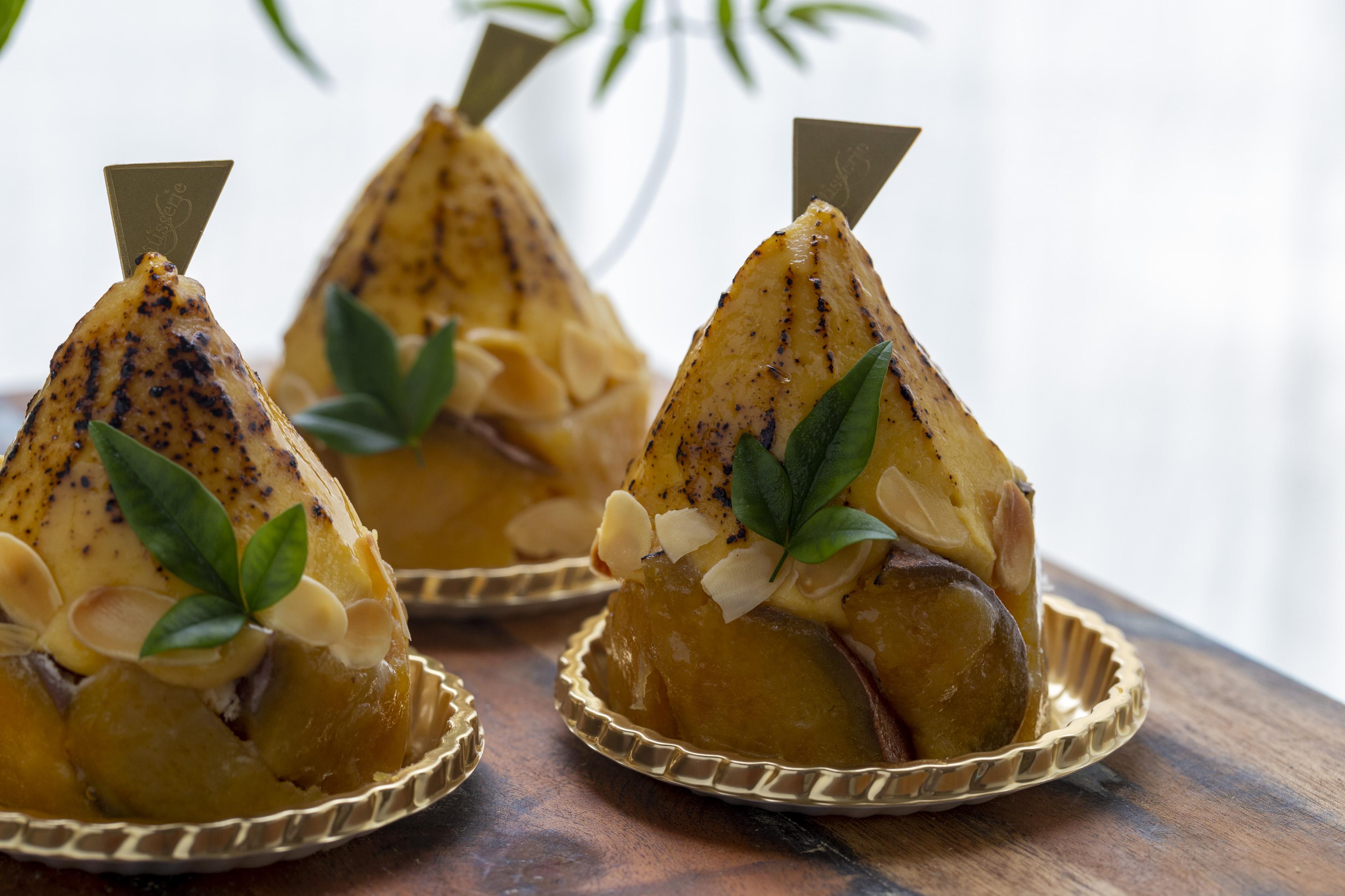 写真:安納芋の焼芋モンブラン